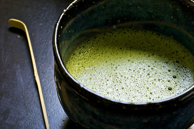 cup of matcha